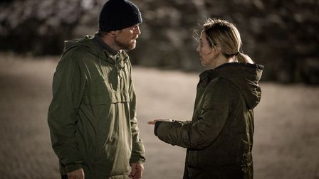 Jonas Armstrong as Sean Meredith and Morven Christie as Lisa Armstrong - a compelling reason to neve