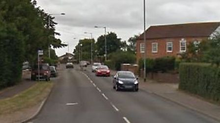 Beccles Road, where a woman in her 60s was sexually assaulted. Photo; Google