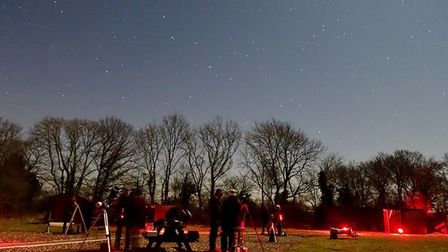 As the days grow longer leading into summer, the constellations are their maximum potential. Picture