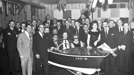 Lions Club presentation at Acle, 1966. Photo: Archant Library