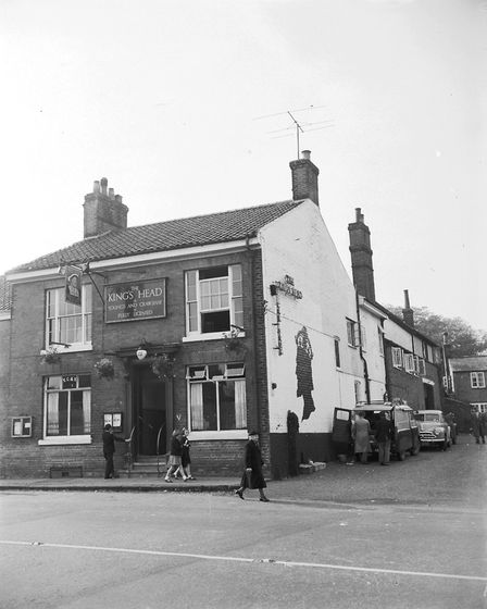The King's Head public house in Acle, October 1957. Photo: Archant Library