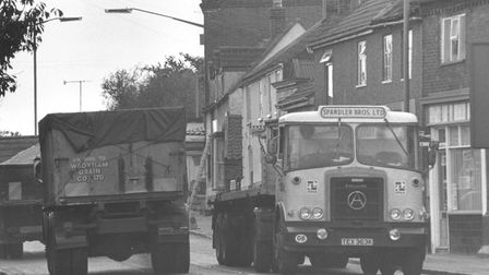 Norwich and Yarmouth Road in Acle, 1973. Photo: Archant Library