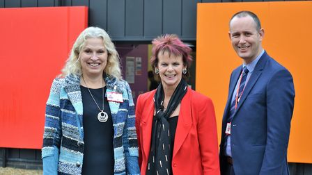 Minister of state for apprenticeships and skills Anne Milton visited City College Norwich, which is