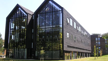 City College Norwich's creative arts building, to which the new Digi-Tech Factory will be a sister b