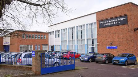 Thorpe St Andrew School and Sixth Form has submitted an application to build a new dining block. Pic