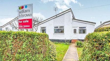 Gunton Lane, New Costessey, for sale for offers over £200,000. Pic: www.williamhbrown.co.uk