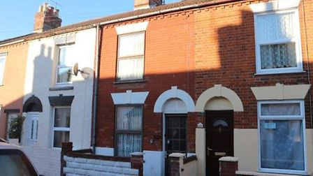 East Road, Yarmouth, for sale for £50,000. Pic: www.auctionhouse.co.uk