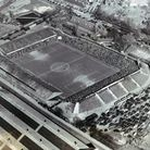 Mr George Swain, Norwich photographer, flew over Norwich City F.C.'s ground at Carrow Road many time