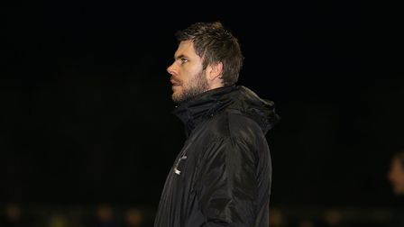 DerehamTown boss Adam Gusterson Picture: Alan Palmer Photography
