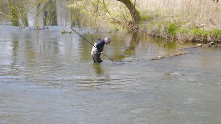 Without a rod in your hand you can explore the river to your heart's content Picture: John Bailey