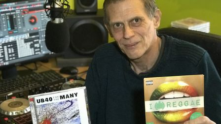 Ian Luffman from Wymondham lost his hearing at six years old but has been DJing for the past 40 year