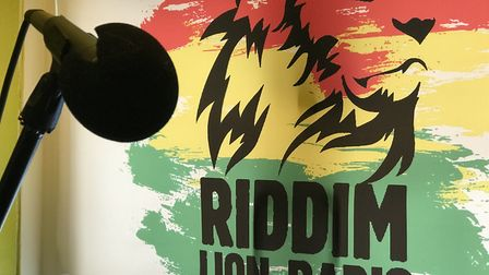 Ian Luffman is launching a radio station Riddim Lion Radio from his home in Wymondham. Picture: Neil