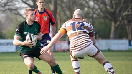 Action from North Walsham's game at Southend Picture: Hywel Jones