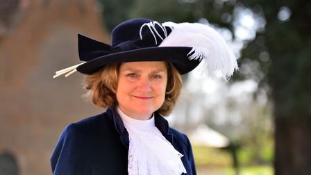The new High Sheriff of Norfolk, Lady Adnew, Burnley Hall, East Somerton. PICTURE: Jamie Honeywood