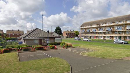 The former North Lynn police station, which could be demolished to make way for flats Picture: Goog
