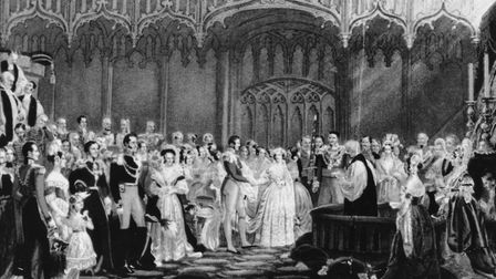 Both Victoria and Albert, after Queen Victoria and Prince Albert - pictured at their wedding in 1840