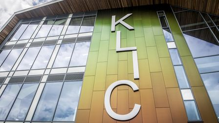 Titan the Robot helps offically open the new KLIC building in King's Lynn. Picture: Matthew Usher.