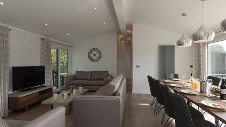 Inside the new Sandringham Lodges at Darwin Escapes. Picture: Darwin Escapes