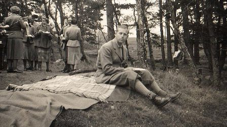Unseen photos of the Royal family. Prince Philip having a picnic. Photo: Deep South Media