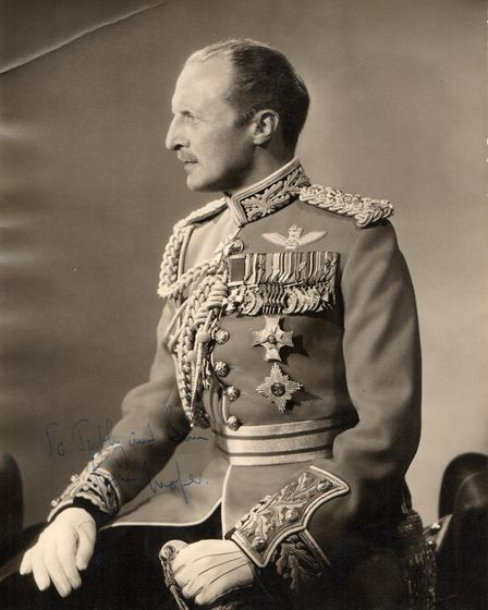 Unseen photos of the Royal family. Lieutenant General Sir Frederick 'Boy' Browning. Photo: Deep Sout