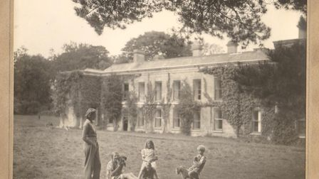 Unseen photos of the Royal family. Du Maurier and her children at Menabilly – 'my Mena' – which insp