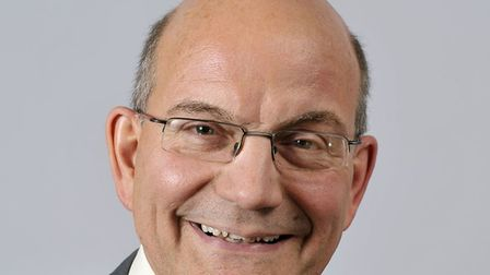 John Fisher, who chairs Norwich highways agency committee. Photo: Broadland District Council