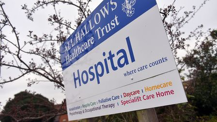 All Hallows Healthcare Hospital, Ditchingham. PICTURE: Jamie Honeywood