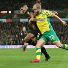 Norwich City's Teemu Pukki in action at Carrow Road. Paul Burall from the Norwich Society wants to s