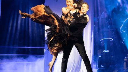 Former Strictly Come Dancing star Brendan Cole in his new production Show Man, Picture FIONA WHYTE P