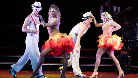Former Strictly star Brendan Cole in his new production Show Man, Picture FIONA WHYTE PHOTOGRAPHY.