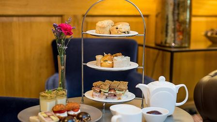 The afternoon tea at the Maids Head Hotel. Pic: www.maidsheadhotel.co.uk