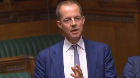Conservative Party Nick Boles speaking in the House of Commons. Photo: House of Commons/PA Wire