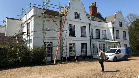 Plans have been submitted to repair Eccles Hall, near Quidenham, which is used by Aurora Eccles Scho
