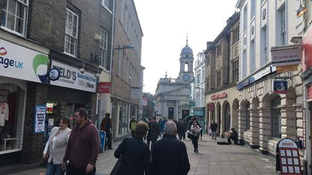 Almost £1m could be spent on a scheme which would see London Street in Norwich repaved. Pic: Dan Gri