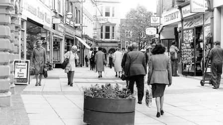 London Street pictured in 1981. Pic: Archant Library.