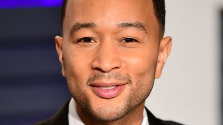 John Legend attending the Vanity Fair Oscar Party held at the Wallis Annenberg Center for the Perfor