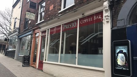The former Presto café, which is set to become a restaurant in summer. Photo: Lauren Cope