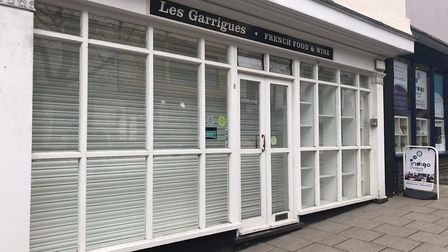 The former Les Garrigues shop, which has relocated to Louis Deli. Photo: Lauren Cope