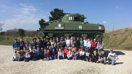 The Town Close School Year 6 children enjoyed a Humanities trip to Normandy. Photo: Town Close Schoo