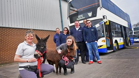 The Border Bus team are supporting MiniDonks to raise awareness for their funding bid from The Peopl