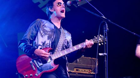 Stereophonics tribute band started the first ever Norwich Fake Festival at Eaton Park in 2018. Pictu