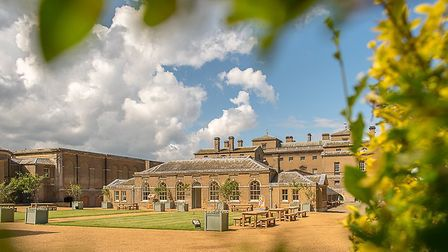 Holkham Hall will host some of Norfolk's best chefs for a charity dinner this summer Picture: Tim D