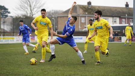 Lowestoft Town will look to Jake Reed to lead from the front once again against Halesowen on Tuesday
