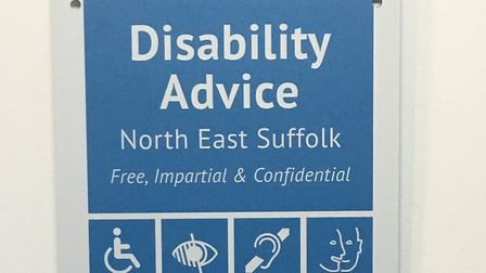 The new Disability Advice North East Suffolk is set to be launched. Picture: Disability Advice North