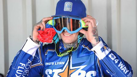 Lewis Kerr checking out his goggles Picture: IAN BURT PHOTOGRAPHY