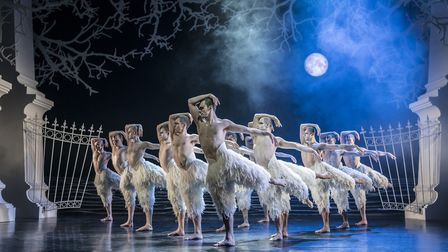 Matthew Bourne's Swan Lake is currently at the Norwich Theatre Royal. Credit: Johan Persson