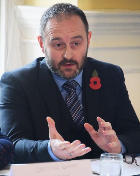 Andy Coller, Temporary Det Sgt and head of safeguarding at Norfolk Police. Picture: DENISE BRADLEY