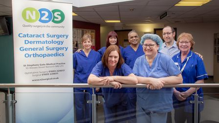 Norwich based cataract clinic N2S is celebrating carrying out its 7000th cataract surgery with char