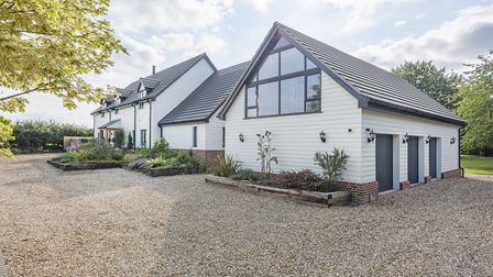 It offers an adjoining garage with studio/gym. Picture: Warners
