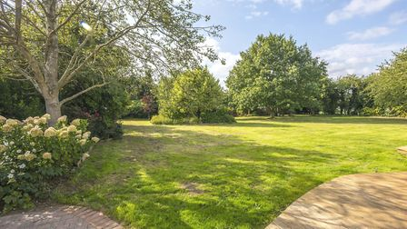 Rose Bungalow sits in a rural location and offers an 'oasis', says estate agent David Warner. Pictur